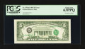 Error Notes:Third Printing on Reverse, Fr. 1976-G $5 1981 Federal Reserve Note. PCGS Choice New 63PPQ.. ...