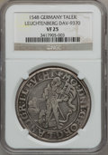 German States:Leuchtenburg, German States: Leuchtenburg. Georg III Taler 1548....