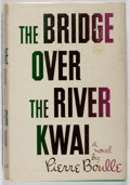 Books:Fiction, Pierre Boulle. The Bridge Over the River Kwai. Vanguard,1954. First American edition, first printing. Price-clipped...