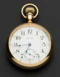 Timepieces:Pocket (post 1900), Waltham 18 Size 23 Jewel Model 92. ...