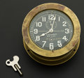 Timepieces:Clocks, Chelsea Clock Co. U.S. Navy Boat Clock, circa 1910. ...