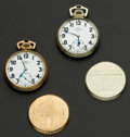 Timepieces:Pocket (post 1900), Two Ball 21 Jewels Official Standard Pocket Watches. ... (Total: 2 Items)