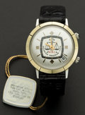 Timepieces:Wristwatch, Jaeger - LeCoultre HPG Automatic Alarm, New/Old Stock, circa1970's. ...