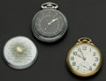 Timepieces:Pocket (post 1900), Two Hamilton's 21 & 22 Jewel Pocket Watches Runners. ...(Total: 2 Items)