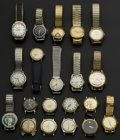 Timepieces:Wristwatch, A Lot Of Twenty Wristwatches. ... (Total: 20 Items)