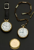 Timepieces:Pocket (post 1900), Two Ball 21 Jewel Official Standard Pocket Watches Runners. ...(Total: 2 Items)