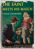 Books:Mystery & Detective Fiction, Leslie Charteris. The Saint Meets His Match. Triangle, 1944. Later edition. Toning and minor abrading to pages. ...