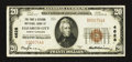 National Bank Notes:North Carolina, Elizabeth City, NC - $20 1929 Ty. 1 The First & Citizens NB Ch. # 4628. ...