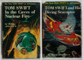 Books:Children's Books, Victor Appleton II. Group of Two Tom Swift Books. Grosset& Dunlap, 1956. Later impressions. Minor toning and we...(Total: 2 Items)