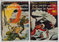 Books:Children's Books, Victor Appleton II. Group of Two Tom Swift Books. Grosset &Dunlap, 1954-1955. Later impressions. Minor toning and wear. Own...(Total: 2 Items)