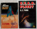 Books:Science Fiction & Fantasy, [Jerry Weist]. E. C. Tubb. Group of Two Signed or Inscribed Books, One First Edition. Various, 1955-1980. Alien Dust is ... (Total: 2 Items)