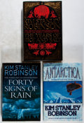 Books:Science Fiction & Fantasy, [Jerry Weist]. Kim Stanley Robinson. Group of Three Signed or Inscribed First Edition Books. HarperCollins, 1997-2004. Fine.... (Total: 3 Items)