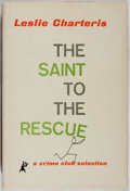 Books:Mystery & Detective Fiction, Leslie Charteris. The Saint to the Rescue. Doubleday, 1959.Later impression. Minor offsetting. Light rubbing an...