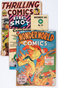 Golden Age (1938-1955):Miscellaneous, Comic Books - Assorted Golden and Silver Age Comics Group (Various Publishers, 1940s-'60s).... (Total: 9 Comic Books)