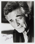 Movie/TV Memorabilia:Autographs and Signed Items, Peter Falk: Actor's Autographed Photo For Doodle for Hunger.Benefitting St. Francis Food Pantries and Shelters...