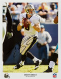 Movie/TV Memorabilia:Autographs and Signed Items, Drew Brees: Pro Football Quarterback's Autographed Photo For Doodle for Hunger. Benefitting St. Francis Food Pant...