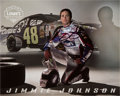 Movie/TV Memorabilia:Autographs and Signed Items, Jimmie Johnson: NASCAR Race Car Driver's Autographed Photo For Doodle for Hunger. Benefitting St. Francis Foo...