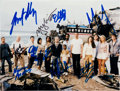 Movie/TV Memorabilia:Autographs and Signed Items, Cast of Lost: Autographed Photo For Doodle for Hunger. Benefitting St. Francis Food Pantries and Shelters. ...