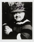 Movie/TV Memorabilia:Autographs and Signed Items, Mickey Rooney: Actor's Autographed Photo For Doodle forHunger. Benefitting St. Francis Food Pantries and She...