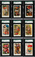 "Non-Sport Cards:Lots, 1957 UM22 Johnson & Johnson ""Robin Hood T.V. Action Scenes""SGC-Graded Complete Set (20). ..."