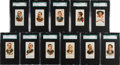 "Baseball Cards:Sets, 1887 N28 Allen & Ginter ""Worlds Champions"" SGC-Graded Collection (11) ..."