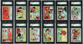 "Non-Sport Cards:Sets, 1959 Ad-Trix ""Popeye"" Complete Set (66) - #1 on the SGC Set Registry!..."