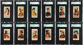 "Non-Sport Cards:Sets, 1888 N33 Allen & Ginter ""World's Smokers"" Complete Set (50) -#2 on the SGC Set Registry!..."