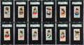 "Non-Sport Cards:Sets, 1889 N73 Duke ""Fancy Dress Ball Costumes"" Complete Set (50) - #1 onthe SGC Set Registry!..."