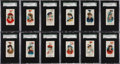 "Non-Sport Cards:Sets, 1889 N91 Duke's ""Yacht Colors of the World"" Complete Set (50) - #2on the SGC Set Registry. ..."