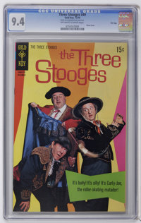 Three Stooges File Copies Group (Gold Key, 1970-71) CGC NM 9.4. Slabbed copies of issues #49, 50, 52, and 53, all with p...