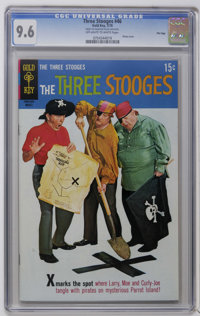 Three Stooges File Copies CGC Group (Gold Key, 1970-72). Included are CGC NM+ 9.6 graded copies of issues #46, 47, and 4...