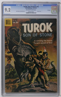 Turok File Copies CGC Group (Dell, 1959-61). Includes CGC graded copies of #18 (NM- 9.2), 19 (VF+ 8.5), 21 (VF/NM 9.0)...