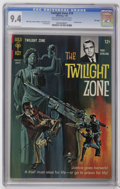 Silver Age (1956-1969):Horror, Twilight Zone #19 File Copy (Gold Key, 1967) CGC NM 9.4 Off-whiteto white pages. Painted cover. Joe Orlando and Joe Certa a...