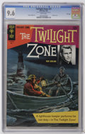 Silver Age (1956-1969):Horror, Twilight Zone #21 File Copy (Gold Key, 1967) CGC NM+ 9.6 Whitepages. Reed Crandall art. Painted cover. Overstreet 2006 NM- ...