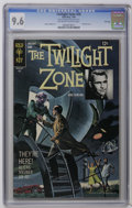 Silver Age (1956-1969):Horror, Twilight Zone #26 File Copy (Gold Key, 1968) CGC NM+ 9.6 Off-whiteto white pages. Painted cover. Flying Saucer cover and st...