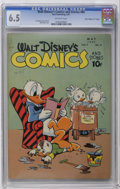 "Golden Age (1938-1955):Cartoon Character, Walt Disney's Comics and Stories #80 Davis Crippen (""D"" Copy)pedigree (Dell, 1947) CGC FN+ 6.5 Off-white to white pages. Ca..."