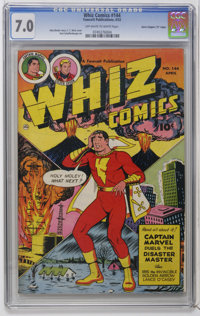 "Whiz Comics #144 Davis Crippen (""D"" Copy) pedigree (Fawcett, 1952) CGC FN/VF 7.0 Off-white to white pages. C.C..."