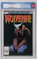 Modern Age (1980-Present):Superhero, Wolverine (Limited Series) #3 (Marvel, 1982) CGC VF+ 8.5 Off-white pages. Frank Miller cover and art. Overstreet 2006 VF 8.0...