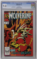 Modern Age (1980-Present):Superhero, Wolverine #9 (Marvel, 1989) CGC NM/MT 9.8 White pages. Gene Colan cover and art. Overstreet 2006 NM- 9.2 value = $10. CGC ce...