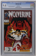 Modern Age (1980-Present):Superhero, Wolverine #13 (Marvel, 1989) CGC NM/MT 9.8 White pages. Kevin Nowlan cover. John Buscema and Bill Sienkiewicz art. Overstree...