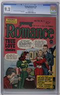 Golden Age (1938-1955):Romance, Young Romance Comics #9 (Prize, 1949) CGC NM- 9.2 Off-white pages. Cover and art by Joe Simon and Jack Kirby. Overstreet 200...