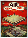 Pulps:Miscellaneous, Bedsheet Pulp Group (Various, 1929-42) Condition: Average FR/GD. Contains Air Wonder Stories July, 1929; Astounding Sc... (Total: 7 Items)