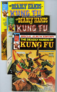 The Deadly Hands of Kung Fu Group (Marvel, 1974). Includes #3 (VF+, Neal Adams painted cover, Enter the Dragon photos an...