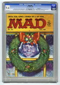 Magazines:Mad, Mad #44 Pacific Coast pedigree (EC, 1959) CGC NM+ 9.6 Off-white towhite pages. We believe this issue's back cover to be the...