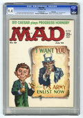 Magazines:Mad, Mad #48 Pacific Coast pedigree (EC, 1959) CGC NM 9.4 Off-whitepages. Uncle Sam cover by Kelly Freas. Perry Mason parody. Si...