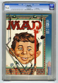 Magazines:Mad, Mad #50 Pacific Coast pedigree (EC, 1959) CGC NM+ 9.6 Off-whitepages. This copy exhibits the same qualities that have fans ...
