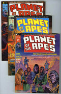 Magazines:Science-Fiction, Planet of the Apes #1-4 Group (Marvel, 1974-75) Condition: Average VF/NM. Includes #1 (2 copies), 2 (2 copies), 3, and 4. Th... (Total: 6 Comic Books)