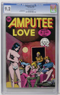 Bronze Age (1970-1979):Alternative/Underground, Amputee Love #1 (Last Gasp, 1975) CGC NM- 9.2 Off-white to white pages. Brent Boates cover. Adult oriented material. Fogel's...