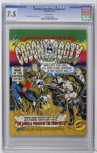 Coochy Cooty Men's Comics #1 (The Print Mint, 1970) CGC VF- 7.5 White pages. Robert Williams cover and art. Adult orient...