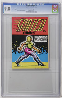 Snatch Comics #1 Third Printing (Apex Novelties, 1968) CGC NM/MT 9.8 Off-white pages. Robert Crumb cover and art. Adult...
